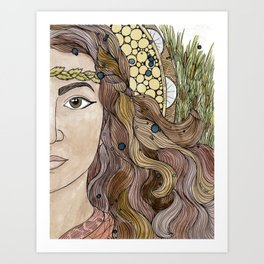 Miriam Art Print