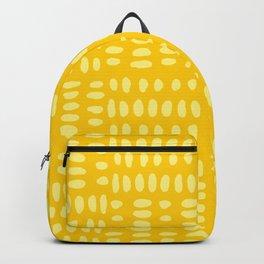 Aztec Mustard print Backpack