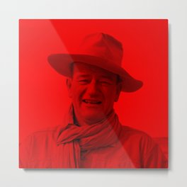 John Wayne - Celebrity (Photographic Art) Metal Print