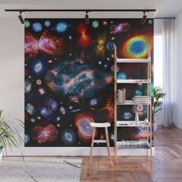 Nebulas — mashups Wall Mural