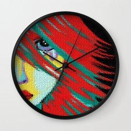 Mosaic Indie Wall Clock
