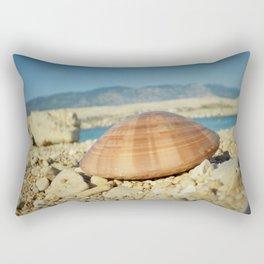 Seashell by the seashore Rectangular Pillow