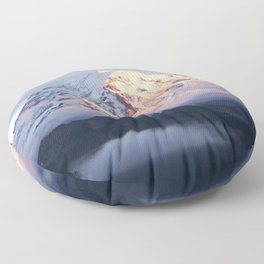 Marvelous Mount Rainier 2 Floor Pillow