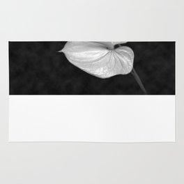 Zwei Blumen im Raum Rug