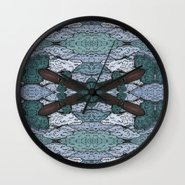 ATOMIC SQUID ZEPPELIN Wall Clock