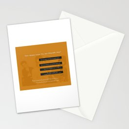 The Smiths Lyrics Heaven Knows I'm Miserable Now Stationery Cards