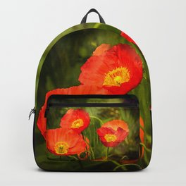 Little red poppies Backpack