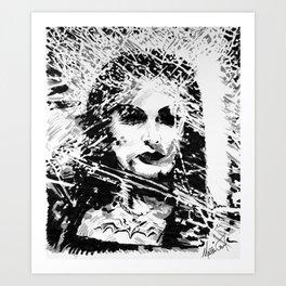 Lily Munster Art Print