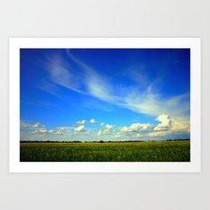 Fields of Barley Art Print