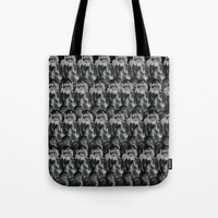 oakland Tote Bags featuring Oakland Cemetary by Sydney Morrow