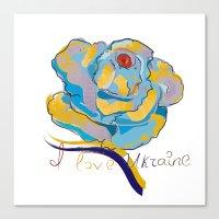 ukraine Canvas Prints featuring ukraine by luiza13