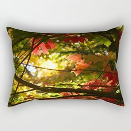 Maples in the Fall Rectangular Pillow