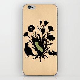 California - State Papercut Print iPhone Skin