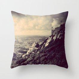 Moorish Castle Throw Pillow