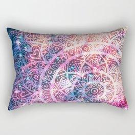 Space mandala 5 Rectangular Pillow