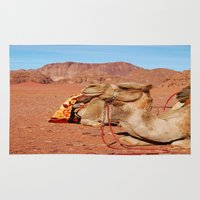 camel Area & Throw Rugs featuring camel by lularound