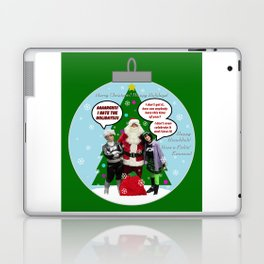 Danny Phantom Christmas ornament greeting card Laptop & iPad Skin