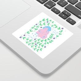 Still Growing Sticker