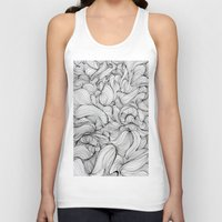 fabric Tank Tops featuring Fabric by DuckyB