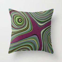Mystical Islands Throw Pillow