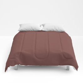 Tread Lightly ~ Reddish-Brown Comforters