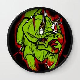 Warriorceratops! Wall Clock