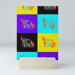 Seeing Double Elephants Mini Art Print