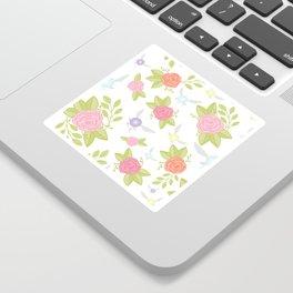 Garden of Fairies Pattern Sticker