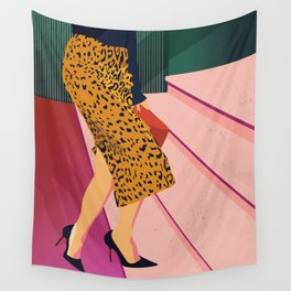 Just steppin' in, and you`re gonna hear me Roar - Fashion illustration Wall Tapestry
