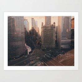 Golden City Art Print