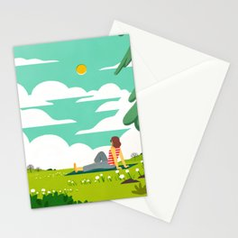 How to be Happy IV Stationery Cards