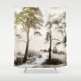 Peace before the Storm Shower Curtain
