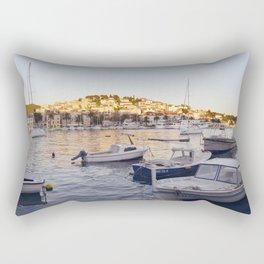 Hvar - panoramic view Rectangular Pillow