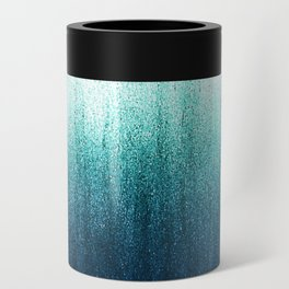 Teal Ombré Can Cooler