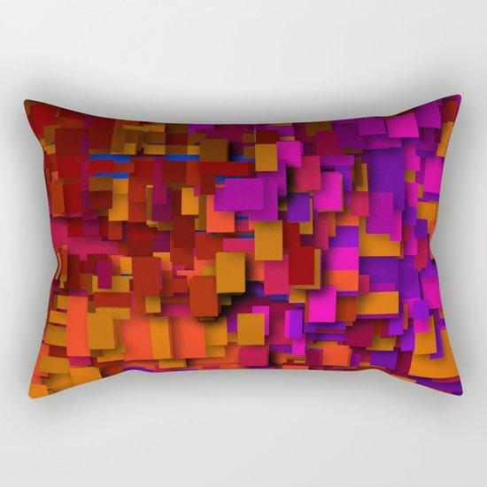 so many layers Rectangular Pillow