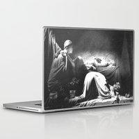 joy division Laptop & iPad Skins featuring Joy Division - Closer by NICEALB