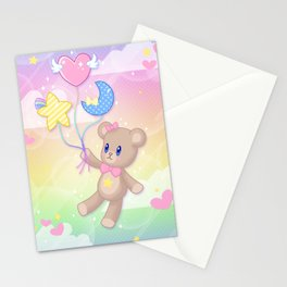Floating Through Dreamland Stationery Cards
