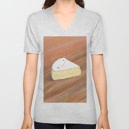 Brie Cheese Unisex V-Neck