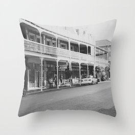 Streets of Cape Town Throw Pillow