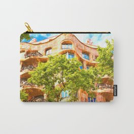 Casa Mila Gaudi Barcelona Carry-All Pouch