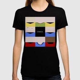 To Boldy Go - square - Star Trek The Original Series TOS - startrek Trektangle Kirk Spock Bones  T-shirt