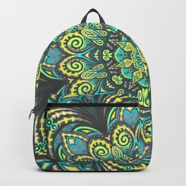 Flower Power - Mandala Art Backpack