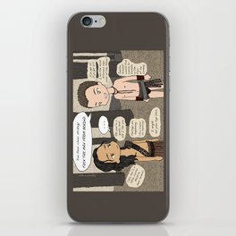 Agron's Smooth Moves (Nagron, Spartacus) iPhone Skin