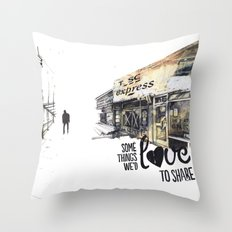 Some things we'd love to share Throw Pillow