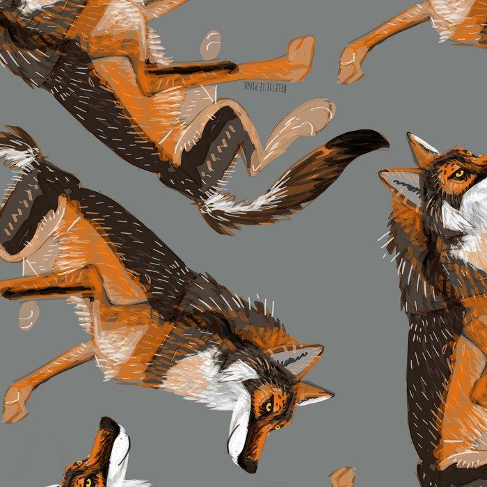 Totem Iberian wolf (GREFA) Leggings