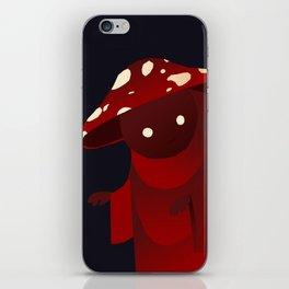 Mushroom Mage iPhone Skin