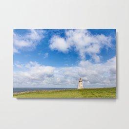 Cape Tryon Lighthouse, Northwest coast of Prince Edward Island, Canada Metal Print
