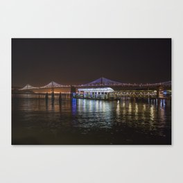 SF BAY BRIDGE II Canvas Print