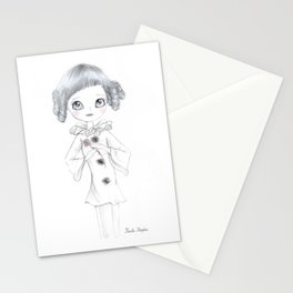 Pierrette Clown Girl Stationery Cards