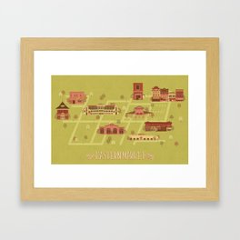 Eastern Market Framed Art Print
